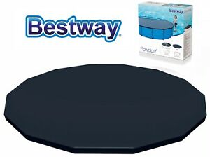 BESTWAY SWIMMING POOL COVER 10FT FRAME STEEL PRO POWER STEEL 3.05M TARPAULIN