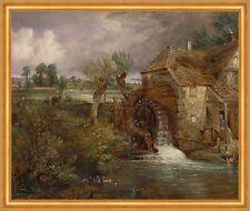 Parham Mill, Gillingham John Constable England Mühle Rad Enten Wasser B A2 02611