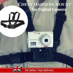Digital Camera Chest Harness Strap Body Holder Mount Belt Universal Action Cam