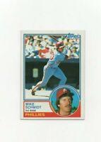 1983 Topps Mike Schmidt Baseball Card #300 - Philadelphia Phillies HOF