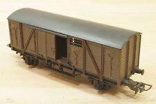 Hornby HO 7040 wagon couvert marron avec portes coulissantes de la SNCF