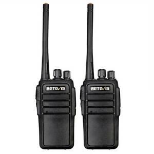 Retevis RT21V MURS Walkie Talkie VHF Long Range Two Way Radio VOX CTCSS Outdoor