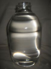 Solid Cast Acrylic Lucite Dummy Bottle Unmarked Industrial Repurposed Sculpture