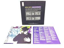 *Elton John To Be Continued 1990 Booklet & Original Box to Set - Mca Records