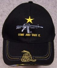 Embroidered Baseball Cap 2nd Amendment Come and Take It NEW 1 hat size fits all