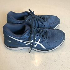Asics Gel Nimbus 20 Womens Running Training Shoes Sneakers Blue Size 9.5 T850N