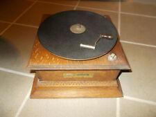 Korpus Mechanik Trichtergrammophon Grammophon  - HMV G&T Horn Gramophone