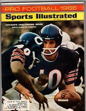 1966 Pro Football Pre-Season Sports Illustrated Unitas Hornung Bear Bryant