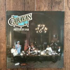 Caravan ‎– Better By Far LP. UK 1st 1977 NEAR MINT Arista ‎– SPARTY 1008