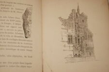 PALAIS DE LA VILLE DE BRUXELLES EXPOSITION UNIVERSELLE 1897 GRAVURES