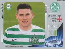 N°512 GARY HOOPER # ENGLAND CELTIC.FC CHAMPIONS LEAGUE 2013 STICKER PANINI
