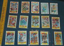 Kelloggs Baseball card lot - 1970s 1980s Santo Rice Fingers