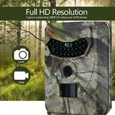 Caméra de Chasse Numérique 12MP 1080P IR Camera de Chasse IP56 Nuit Vision