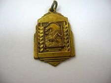 Vintage Sports Medal Swimming Award Men's Novice 100yd Back Stroke Great Design