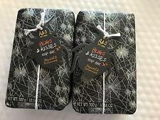 2 Pack AsQuith & Somerset Vanilla  Spider Halloween Fall Scented Bar Soap