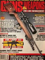Guns And Weapons For Law Enforcement Oct 2000, Springfield M21 Tactical .308
