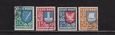 Estland 152-155 Caritas 1940 gestempelt komplett