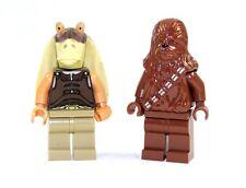 Lego Star Wars™ FIGURINE JAR JAR Bings et Chewbacca MINI FIGURINES 2 pièces