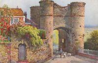 Sussex Postcard - Strand Gate, Winchelsea - Artist E.W.Haslehust   RS23173