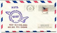 1979 NSTL George Marshall Space Flight Center Rockwell Test 012 Engine 2004 USA