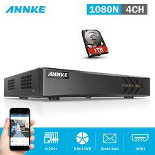 ANNKE 4CH 1080N 5IN1 DVR TVI Recorder H.264 HDMI Home Video Security DN41R + 1TB