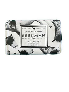 Beekman 1802 Goat Milk Soap 9.0 oz Vanilla Absolute with JoJoba Sensitive Skin