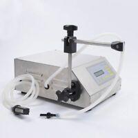 WOO New Digital Control Pump Drink Water Liquid Filling Machine GFK-160 240V