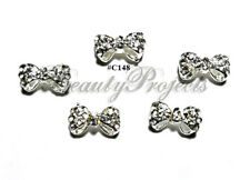 5pc Nail Art Charms 3D Nail Rhinestones Decoration Jewelry DIY Bling - C148