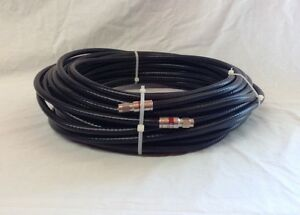 951175-WILSON ELECTRONICS 75 FEET RG11 LOW-LOSS BLACK COAX WITH F CONNECTORS