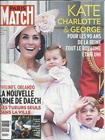 Paris Match Magazine Kate Middleton Prince William Princess Charlotte Orlando