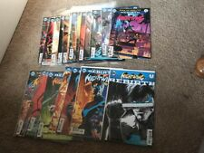 Nightwing Rebirth #1-21 & One-shot Run Set Seeley Paquette DC 2016