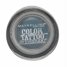 MAYBELLINE COLOR TATTOO BY EYESTUDIO 24 HR EYE SHADOW #400 TEST MY TEAL