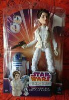 "Star Wars Forces of Destiny Princess Leia 11"" Doll & R2-D2 Figure ... BNISB"