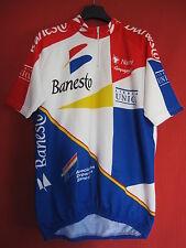 Maillot cycliste Banesto Unica 1994 Manche courte Nalini Campagnolo - 7