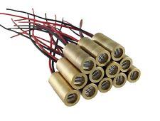 Instapark DRM509-L011 5 mW 650 nm Red Laser Module Line , One-dozen Pack