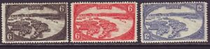 Brunei 1924 SC 59-61 MH Set