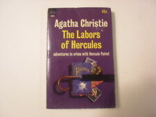 The Labors of Hercules, Agatha Christie, Hercule Poirot, 45c Paperback, 1964