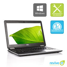 Dell Latitude E7240 Laptop  i7 Dual-Core 8GB 256GB SSD Win 10 Pro B v.WAA
