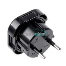 Travel UK to EU Euro AC Power Plug Charger Adapter Socket Converter Universal M