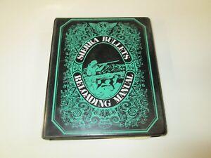 Sierra Bullets 1971 Reloading Manual in 3 Ring Binder