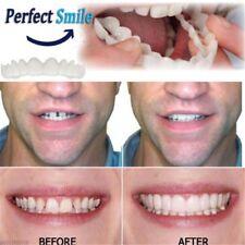 Snap On Instant Smile Perfect Smile Comfort Fit Flex Teeth Fits Veneers @Q
