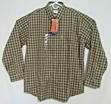 Columbia XCO Men's Long Sleeve Button Red Brook Trail Plaid Shirt Large