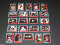 Buck Rogers in the 25th Century - Complete 22 Card Sticker Set - Topps 1979 - NM