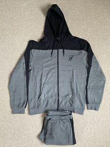 Mens Twisted Gorilla Grey Cut and Sew Tracksuit Size Medium