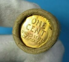 Lincoln Wheat Cent Rare Collectable Penny Roll With Brilliant Uncirculated Ends