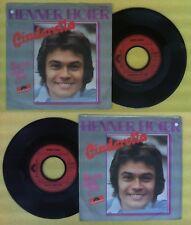 LP 45 7'' HENNER HOIER Cinderella my love Sie ist noch frei 1975 no cd mc dvd