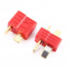 10Pcs Deans Plug T-Style Connector Male + Female For RC LiPo Battery ESC Motor
