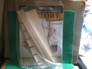 BUILD LORD NELSON`S HMS VICTORY (ISSUE 16 WITH PART) 1:84 SCALE NEW
