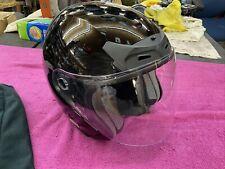 🏁  🏍  XL Fulmer 75B Black Motorcycle Helmet w Visor ECE 22-05 FMVSS 218 DOT