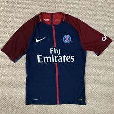 Nike Aeroswift Mens Paris Saint Germain Neymar Soccer Jersey Blue Red Size XL